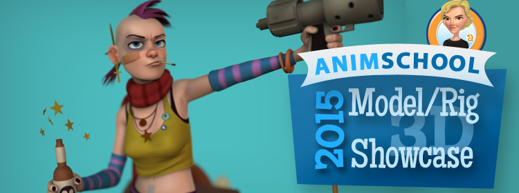 AnimSchool Model/Rig Showcase